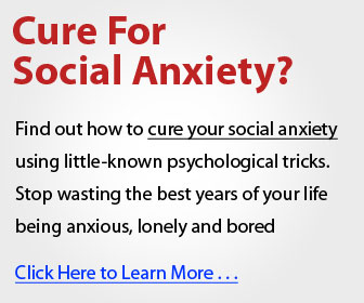 Cure For Social Anxiety