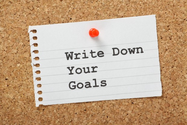 Put Your Goal On Paper